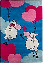 andiamo 704470 Teppich Lovely Sheep, 100 x 160 cm,