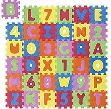 Andiamo 711828 Puzzleteppich Kinderteppich