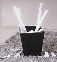 Andrea House PA09013-Papierkorb, Schwarz, aus