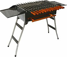 Andreas Dell Grill BBQ Holzkohlegrill Standgrill
