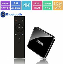 Andriod 9.0 TV-Box, Bluetooth-Set-Top-Box 3D 4K