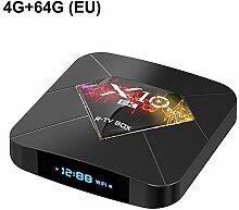 Android 9.0 smart tv box x10 bluetooth 6 karat