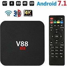 Android TV Box V88 Smart Set Top Box Android 7.1