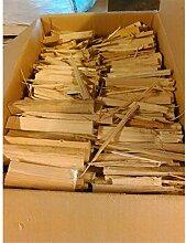 Anfeuerholz aus Kastanie und Zeder Kartion mit 15kg