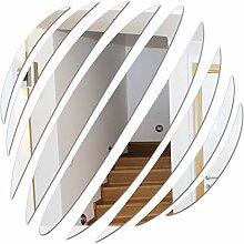 Angebot Quadrat Kristall Moderne diy Acryl Spiegel 3 d neue Wand Aufkleber Home Decor Hintergrund Wohnzimmer, Schwarz