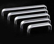 Angela-homestyle™ Aluminium Möbelgriff Relinggriffe Stangengriff Küchengriffe Türgriff (192mm)