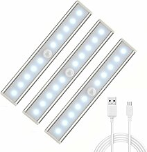 AngelaKerry 3er Set 10 LED USB Wiederaufladbar