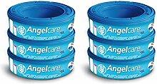 Angelcare 6 Nachfüllkassetten für Windeleimer