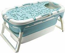 angelHJQ Faltbare Badewanne, für Erwachsene und