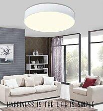 Angelo Lockers Deckenleuchten-Deckenleuchte LED Die kreisförmige 2016 Geometrie kreative Moderne minimalistische Deckenleuchte Lampen Studie schlafzimmer wohnzimmer Hell -500mm 36W