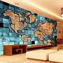 Angepasste Größe European Style 3D Weltkarte