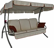 Angerer Comfort Style Hollywoodschaukel 3-Sitzer,