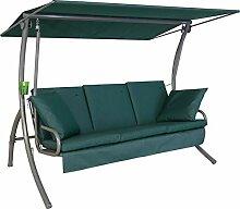 Angerer Loft Sun Hollywoodschaukel, grün, 3-Sitzer