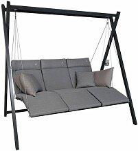 Angerer Relax Hollywoodschaukel Stahl/Textilene