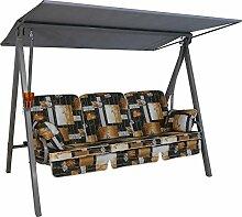 Angerer Vario Hollywoodschaukel 3-Sitzer Design