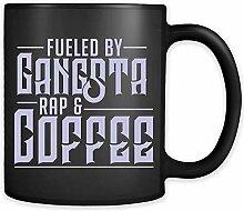 Angetrieben von Gangsta-Rap-Kaffeetasse - lustiger