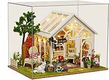 ANGION Puppenhaus Sonnenschein Gewächshaus Blume