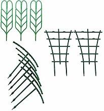 Angoily 11 Stück Gartenpflanze Klettergitter