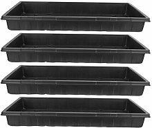 Angoily 4Pcs Saatgut Ausgangs Anlage Wachsen Trays