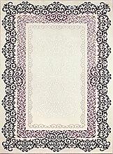 Angora Teppiche 3102L Nirvana Teppich, Acryl, 150