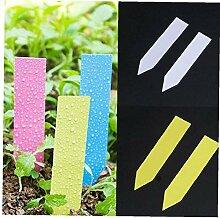 Angoter 100 Stück Wiederverwendbare PVC Pflanzen