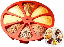 Angoter 8-Fach Bakeware Moulds Kuchenform