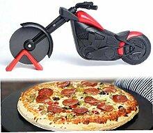 Angoter Neue Motorrad-Form-Edelstahl-Pizza Divider
