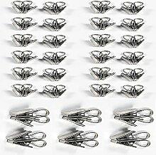 Angou Vorhang Clips Gardinen Metall Klammern mit