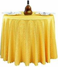 Anguang Elegant Einfarbig Tischrock Abwaschbar