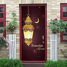 ANHHWW Türtapete Selbstklebend Türposter