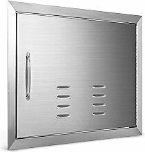Anhon BBQ Horizontale Türen Edelstahl Access Door