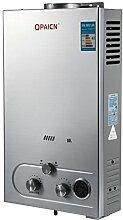 Anhon Tragbare Tankless Warmwasserbereiter 8-18L