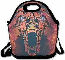 Animal Unisex Lunch Box Food Bag Lunch Bag For