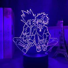 Anime 3D-Lampe Acryl Hunter X Hunter Killua und