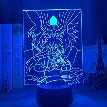 Anime 3D Lampe Naruto Madara Uchiha Licht für