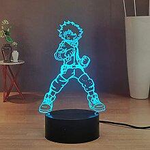 Anime 3D Nachtlampe My Hero Academia, Nachtlicht