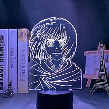 Anime Attack auf Titan 3d Lampe Armin Arlert Licht