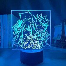 Anime Fairy Tail Natsu Dragneel und Erza Scarlet