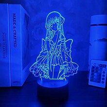 Anime Figur Lampe 3D Chi Chobits Nachtlicht Für