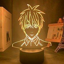 Anime Kurokos Basketball Kuroko Tetsuya Figur LED