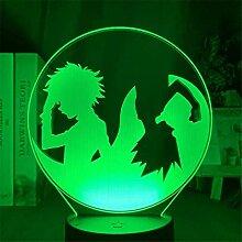 Anime Lampe 3D LED Nachtlicht Hunter X Hunter