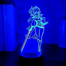 Anime Lampe Genshin Impact Figur Jean LED