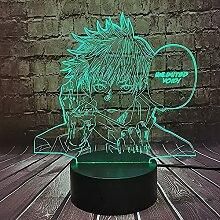 Anime Lampe Jujutsu Kaisen Satoru Gojo LED
