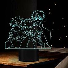 Anime Lampe Ryomen Sukuna Satoru Gojo Licht