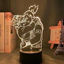 Anime Licht Naruto Shikamaru und Temari Lampe für