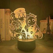 Anime Lichter 3d LED,Anime Toilette Gebunden