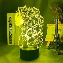 Anime Lichter 3d Led,Gon und Killua Figur 3d