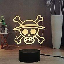 Anime Logo Symbol Kinder Nachtlicht LED Touch