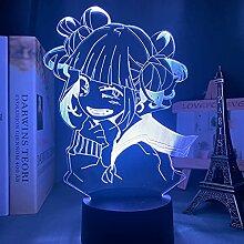 Anime My Hero Academia führte Nachtlicht Himiko