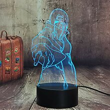 Anime Naruto LED-Licht Itachi Uchiha Licht für